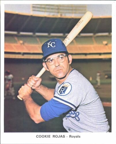 Lot Detail 1972 Kansas City Royals Cookie Rojas Road