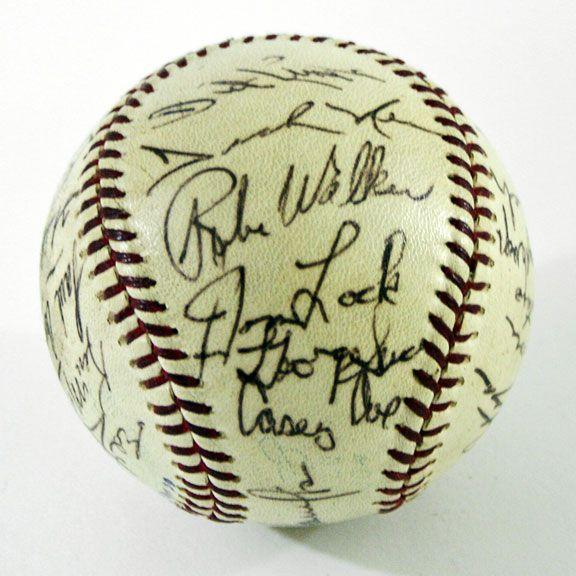 1966 Washington Senators Team Signed Baseball