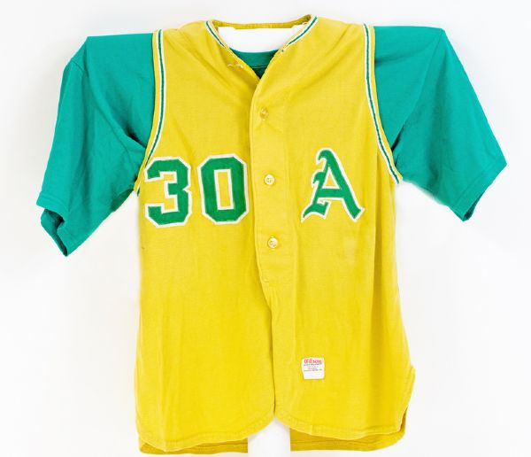 1963 Kansas City A's Ed Lopat Game Used Gold Vest Jersey w/ Pants