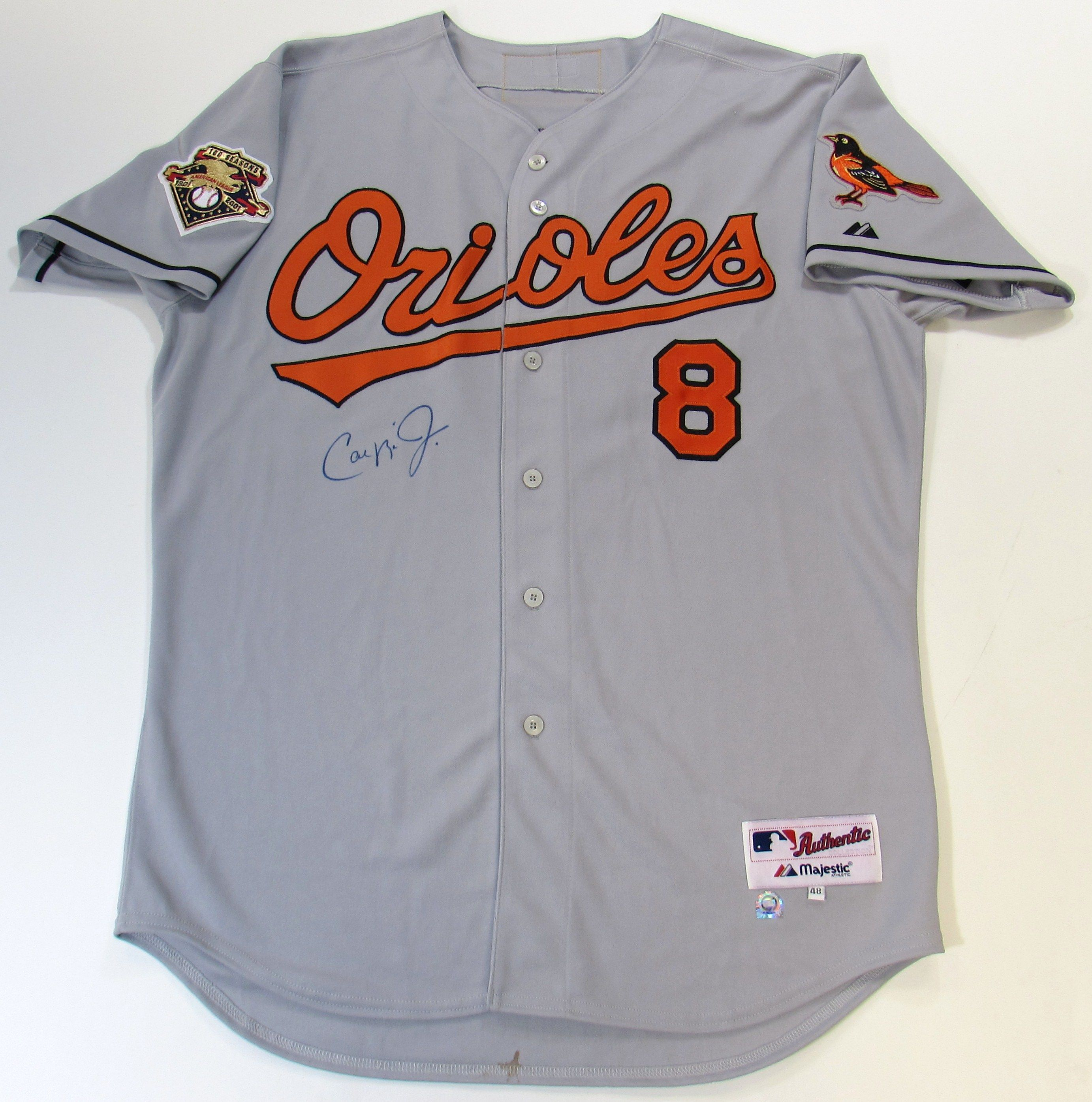 cheap for discount 759a4 8c996 Lot Detail - Cal Ripken Jr. Signed Jersey