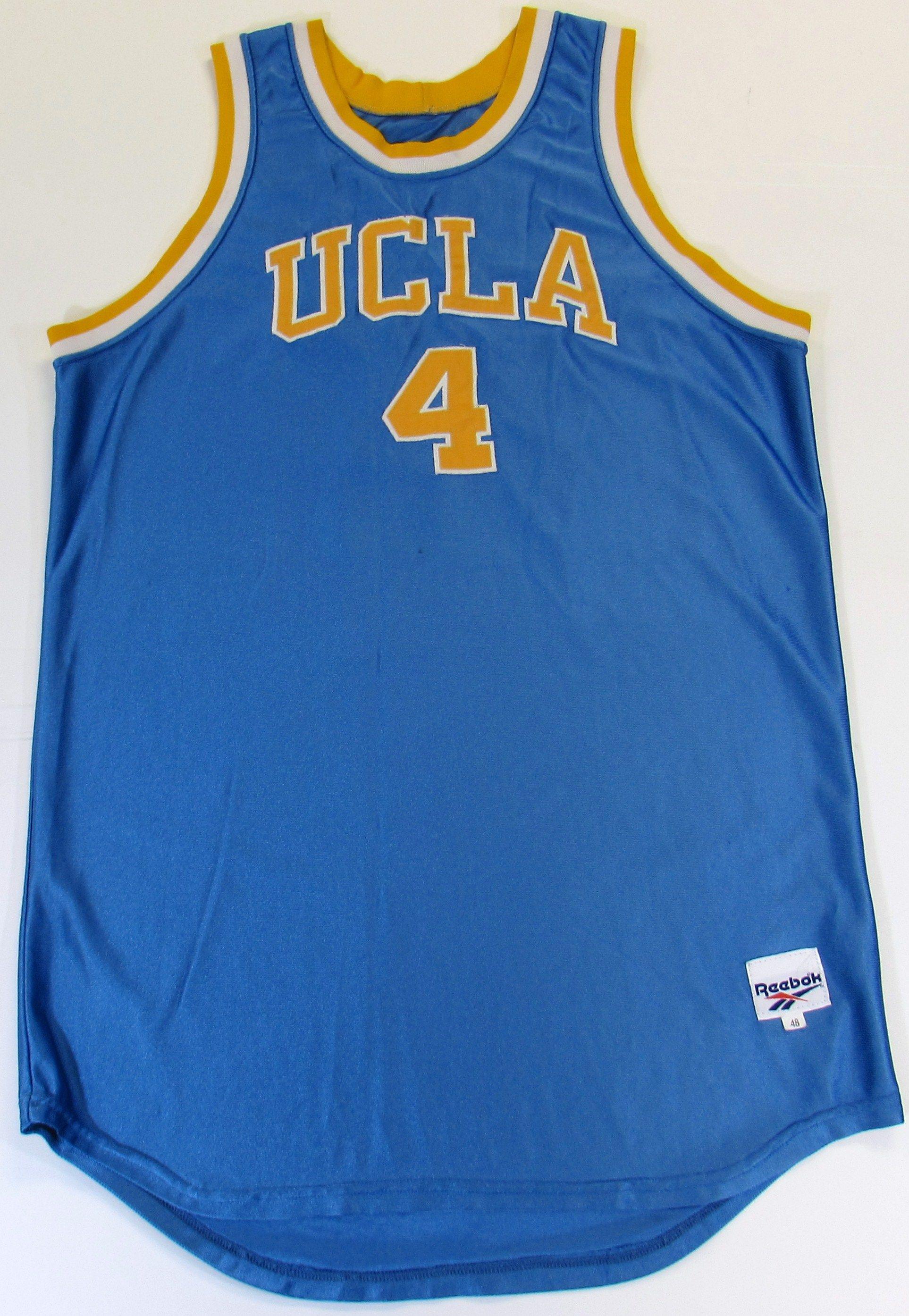 more photos 2429c d0621 Lot Detail - JaRon Rush Game Worn UCLA Basketball Jersey