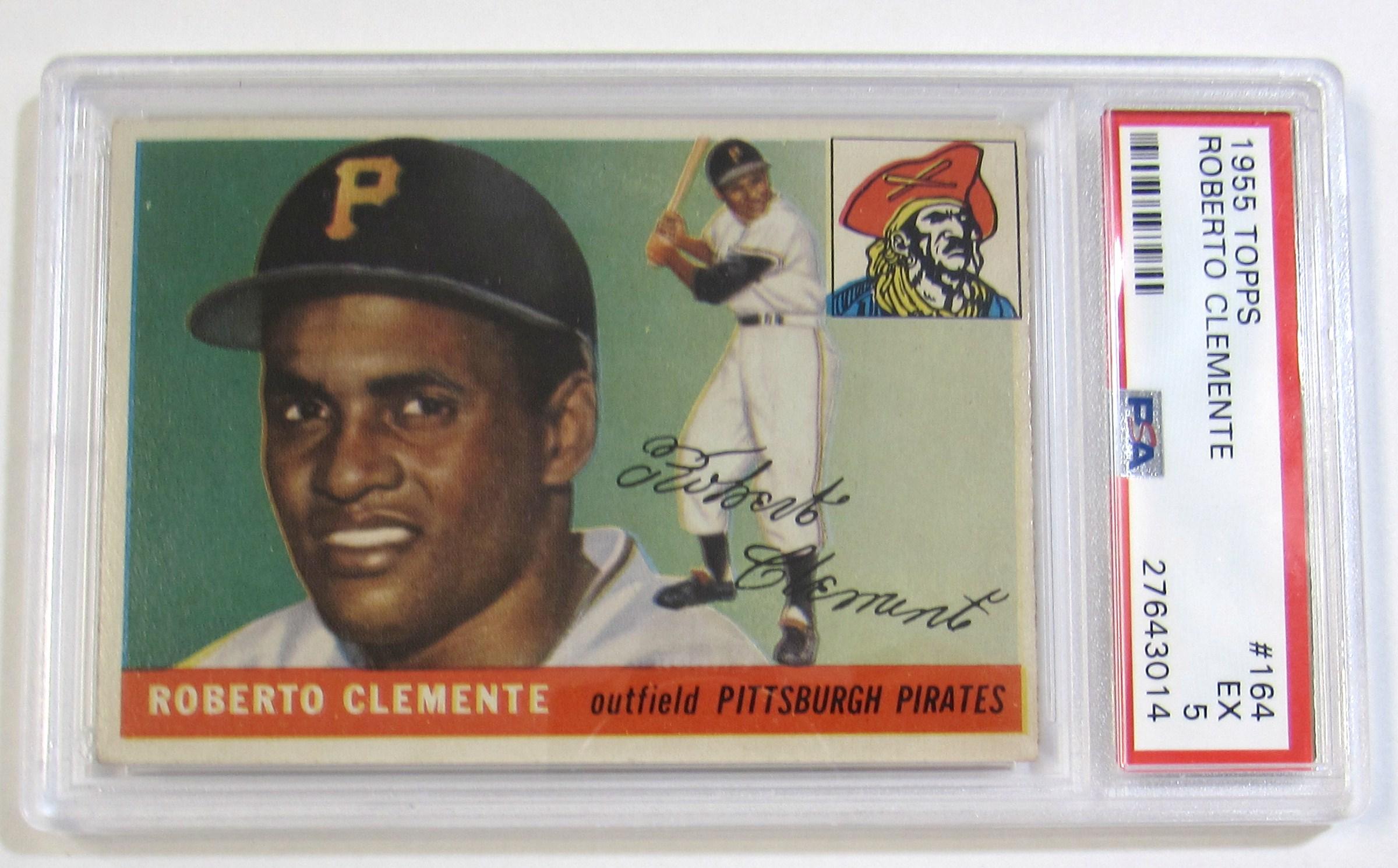 Lot Detail 1955 Roberto Clemente Rookie Psa 5