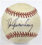 Dan Quisenberry Single Signed Ball