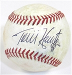 Tori Hunter Signed Ball