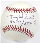 Tony LaRussa Signed Ball
