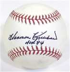 Harmon Killebrew Signed Ball