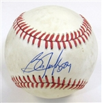George Brett and Bo Jackson Signed Ball