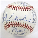 1991 Toronto Blue Jays Team Signed Ball