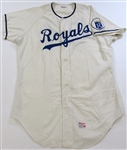 Frank White 1971 Kansas City Royals Baseball Academy Game Used Jersey