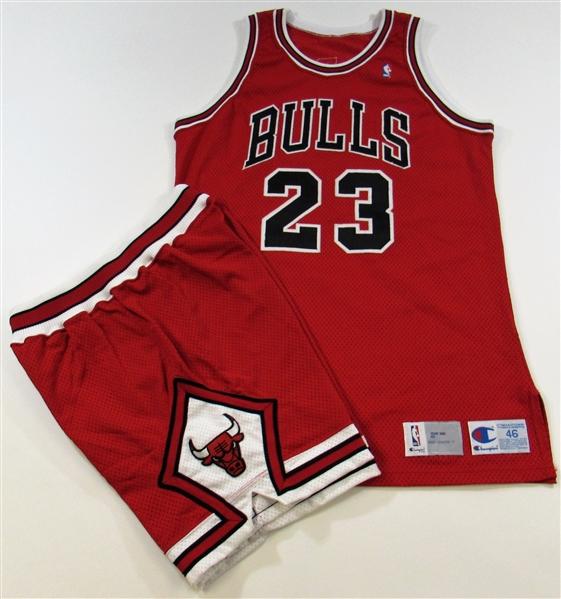 promo code b322a a66b5 Lot Detail - 1991 Michael Jordan Pro-Model Chicago Bulls ...