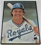 George Brett Signed 7-Up Framed Poster