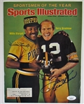 Terry Bradshaw & Willie Stargell Signed SI Cover - JSA