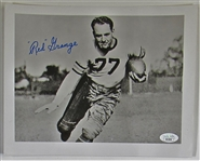 Red Grange Signed Photo - JSA