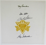 Green Bay Packers Signed 75th Season - Bart Starr - Ray Nitschke
